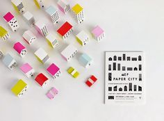 Calendario de adviento Paper City de Mr. P Shop