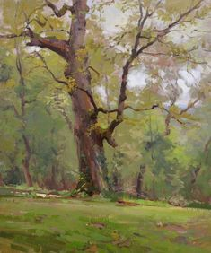 ars est celare artem — John P. Oil Painting Trees, Simple Oil Painting, Watercolor Trees, Watercolor Landscape, Watercolor Paintings, Oil Paintings, Guache, Landscape Artwork, Plantation