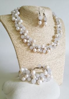 Jewelry Agate Stone Set necklacebraceletearringsAgate