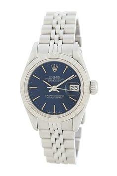 Rolex Women's Datejust Stainless Steel Bracelet Watch