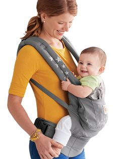Keep your babe close with the Ergobaby Original Collection baby carrier.