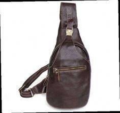 46.34$  Watch now - http://aliak7.worldwells.pw/go.php?t=32434970204 - Men chest bag vintage genuine leather cowhide bag fashionable designer men chest pack