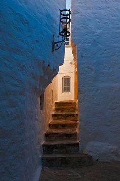 Hellas ~ Ελλάδα γύρω μας κι εντός μας.!, Stepping stone at the island of Patmos Hellas Art...
