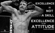 Fitness, UFC, Conor McGregor, Excellence, Attitude, Inspiration, Motivation, Personal Training, Skill,