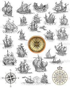 old nautical map symbols - Google Search