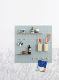 ideas kitchen wall storage diy awesome for 2019 Dining Room Design, Kitchen Design, Kitchen Utensil Storage, Kitchen Pegboard, Kitchen Utensils, Pegboard Garage, Pegboard Display, Mur Diy, Wood Floor Pattern