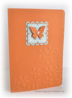 Using one small piece of patterned paper with coordinating card stock.