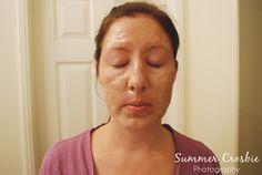 Pore strip mask DIY