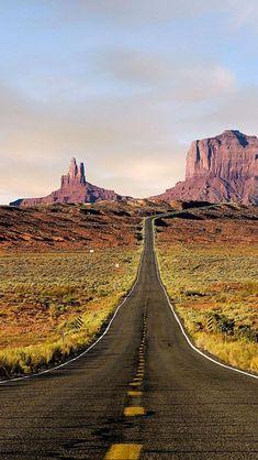 Route 163, Utah -> Arizona - Amerique du Nord