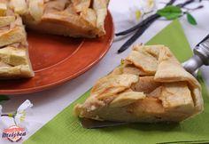 Torta di mele cremosa #foodporn #apple #pie