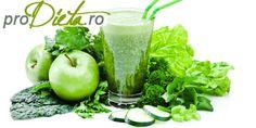 Rețeta de smoothie verde este ideală pentru o cură de slăbire eficientă care aduce și multe vitamine organismului!