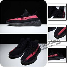 Adidas Yeezy Boost 350 V2 Prix Chaussure Homme Noir Rouge  aditrace 0644da20b2