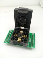 QFP48 TQFP48 LQFP48 to DIP48 Programming Socket Pitch 0.5mm IC Body Size 7x7mm FPQ-48-0.5-06 Test Socket Adapter