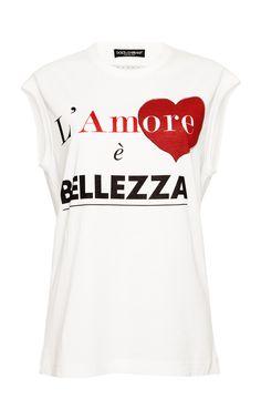 Bellezza T Shirt by DOLCE & GABBANA for Preorder on Moda Operandi