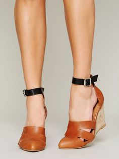 Jeffrey Campbell + Free People Courtland Mini Wedge at Free People Clothing Boutique