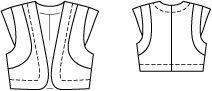bolero. 123 04-2012. fabrics with body. 17-21.