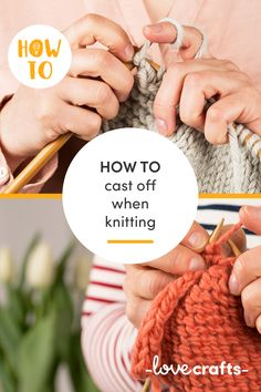 Learn how to cast off knitting in 3 ways with LoveCrafts.com | Videos and tutorials at LoveCrafts