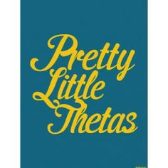 The Kappa Alpha Theta Pretty Little Thetas Print is just the print to put on your wall. Decorate your space with some #KAT inspiration. #theta #dormify #greek http://www.dormify.com/greek/kappa-alpha-theta/kappa-alpha-theta-pretty-little-thetas-print