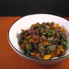 Show Me Vegan: BBQ Black Beans with Kale