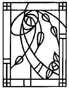 You can order Mackintosh Glasgow Detail Wood Mounted Rubber Stamp Stained Glass Birds, Stained Glass Designs, Stained Glass Panels, Stained Glass Patterns, Charles Rennie Mackintosh Designs, Rose Stencil, Jugendstil Design, Art Nouveau Design, Mosaic Glass