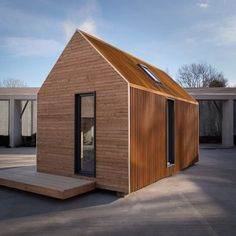 prefab cabin is designed to take you off grid in the Scottish Highlands. This prefab cabin is designed to take you off grid in the Scottish Highlands Prefabricated Cabins, Prefab Homes, Tiny Homes, Log Homes, Modern Tiny House, Tiny House Cabin, Prefab Buildings, Pavillion, Metal Siding