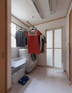 脱衣室 Image House, Bedroom Design, Laundry Room, Kitchen Plans, House, Laundry In Bathroom, Home Decor, Room, Wardrobe Rack