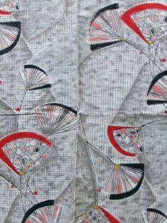 http://www.fujikimono.co.uk/fabric-japanese/cool-breeze.html  ☆ New Arrival ☆ 'Cool Breeze' #women's #vintage #meisen #silk #haori #kimonojacket #graphic & #abstract #pattern  #kimono #FujiKimono #kawaii #cosplay #HYPERJAPAN #VintageFair #antique #textile #costume #oriental #indigo #Boro #hakama #hippari #Japan #fashion #Japon #Japonisme  #tabi #martialarts #cute