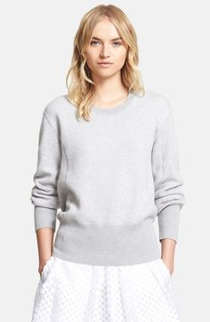 Burberry London Wool, Cotton & Cashmere Crewneck Sweatshirt available at #Nordstrom