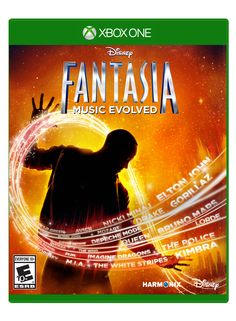 """""""Disney Fantasia: Music Evolved Original Soundtrack"""" release announced by Sumthing Else Music and Disney Interactive"""