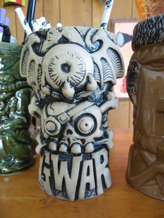 GwarBar Tiki mug The Rusty Flamingo #gwarbar #tiki #blog