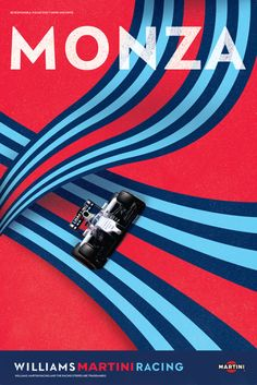 """""""This weekend the MARTINI RACING stripes are returning home to Italy, driven by desire. F1 Posters, F1 Wallpaper Hd, Espace Design, Automobile, Italian Grand Prix, Martini Racing, Ex Machina, Racing Stripes, Car Advertising"""