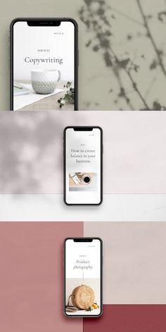 Ava - iPhone X Mockup Scene Creator Scene Creator, The Creator, Mobile Mockup, Website Design Layout, Phone Mockup, Free Instagram, App Design, Templates, Roy Robson