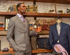 Look and Learn: Chris Bosh  The NBA star with a new line of ties shares his tips for looking your sharpest