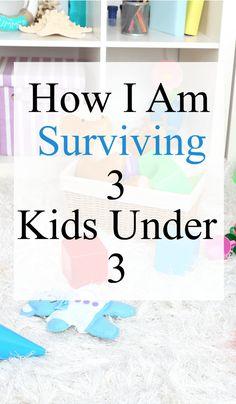 3 Kids under 3 | Surving Toddlers | MotherHood |  Parenting Tips