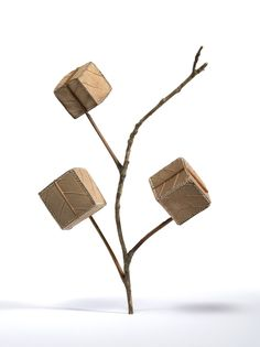 Susanna Bauer Creates Spectacular Sculptures Using Leaves, Crochet and Concentration #crochet #art #sculpture