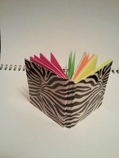 Duct Tape Mini Notebook by ForOliveYou on Etsy, $5.00
