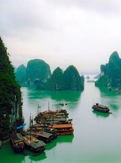 Ha Long bay, Vietnam  Aiden the next postcard I send you will be from Vietnam! Spring, 2014