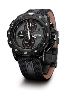 NEW MODEL - SWISS ARMY - ALPNACH MECHANICAL CHRONOGRAPH