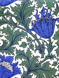 anemone by William Morris