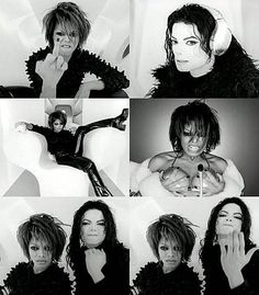 Michael and Janet Jackson; Scream video