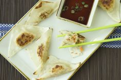 Simple Pan Seared Dumplings on Weelicious
