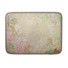 Shabby Chic Floral Macbook Pro Sleeve