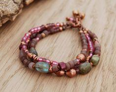 bohemian bracelet  gypsy bracelet  hippie jewelry  multi by OmSaha, $52.00