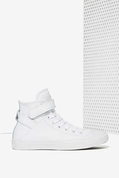 242a99f502636 Converse Chuck Taylor Brea Leather Sneaker - White   Shop Shoes at Nasty  Gal! White