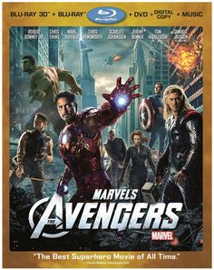 Marvels Avengers Blu-ray/DVD giveaway
