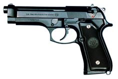 The Beretta the Pistol, Semiautomatic, the designation for the Beretta semi-automatic pistol used by the United States Armed Forces. The was adopted by the United States military as their service pistol in Rifles, Beretta 92, 9mm Pistol, Revolvers, Military Guns, Guns And Ammo, Weapons Guns, Self Defense, Armed Forces