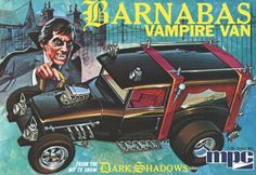 """cryptofwrestling: """" Barnabas Vampire Van (MPC, There was no such van on the show, of course, but in the Marylin (Dan) Ross novels, Barnabas had a specially made vehicle which allowed him to. Retro Toys, Vintage Toys, Dark Shadows Tv Show, Model Cars Kits, Plastic Model Cars, The Munsters, Vintage Models, Classic Tv, Old Toys"""