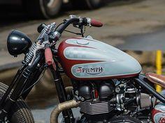 Bikebrothers 2015 Triumph Bobber 'Muzzleflasher' | Bonnefication