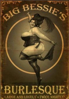 The Big Bessie poster from Fable 3.