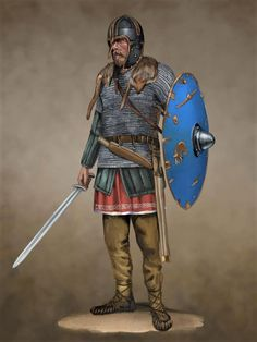 The (Anglian) Coppergate Helmet - Saxon Ealdorman by JLazarusEB on Anglo Saxon History, Ancient History, European History, Ancient Aliens, American History, Anglo Saxão, Vikings, Military Costumes, Germanic Tribes